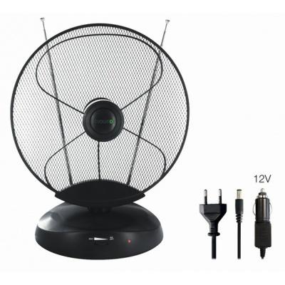 EVOLVEO Xany 4 LTE 230/12V, 50dBi aktivní pokojová anténa DVB-T/T2, LTE filtr