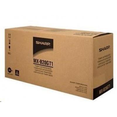 SHARP toner MX-B20GT1, black, (MX-B20GT1)