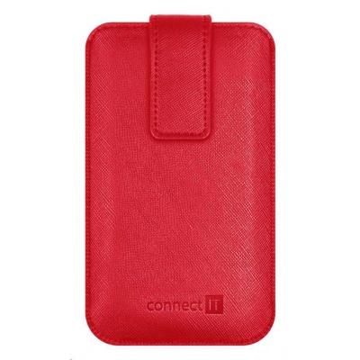 CONNECT IT U-COVER univerzální pouzdro na mobilní telefon, červená (velikost M)