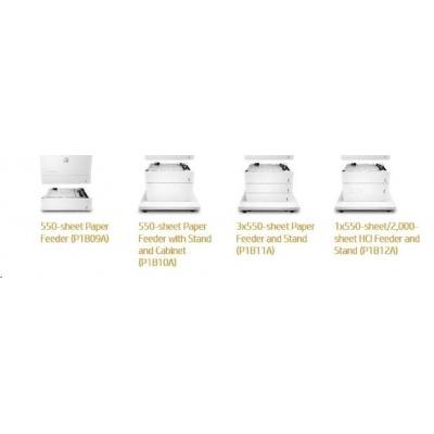 HP Color LaserJet 3x550 Sht Feeder Stand  - Skříňka tiskárny + zás. na 3x550 listů pro CLJ M681, M652, M653, E67660