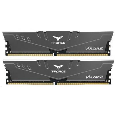 DIMM DDR4 16GB 2666MHz, CL18, (KIT 2x8GB), T-FORCE VULCAN Z, Grey