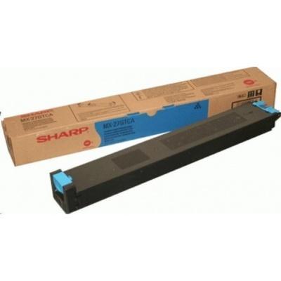 Sharp toner cyan (15.000 kópií) MX-2301N, 2600N, 3100N, 410xN, 500xN