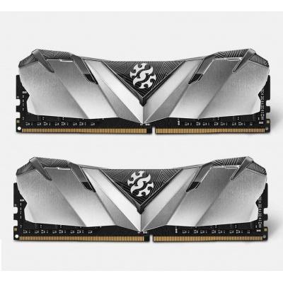 DIMM DDR4 32GB 3000MHz CL16 (KIT 2x16GB) ADATA XPG GAMMIX D30 memory, Dual Color Box, Black