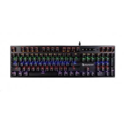 A4tech Bloody B760W mechanická RGB herní klávesnice, USB, CZ