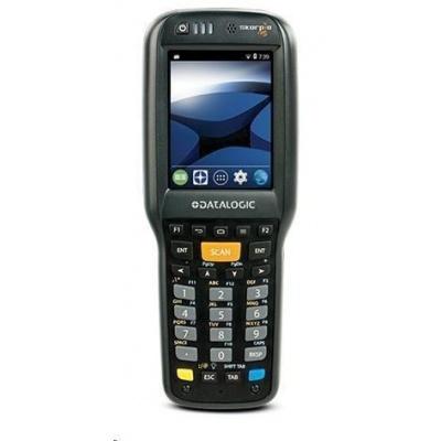 Datalogic Skorpio X4, 1D, imager, USB, RS232, BT, Wi-Fi, Func. Num., Gun, ext. bat., WEC 7