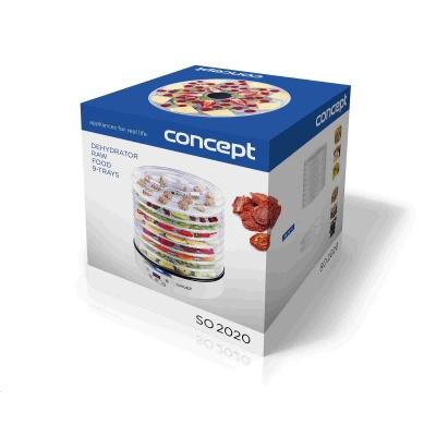 CONCEPT SO2020 sušička ovoce