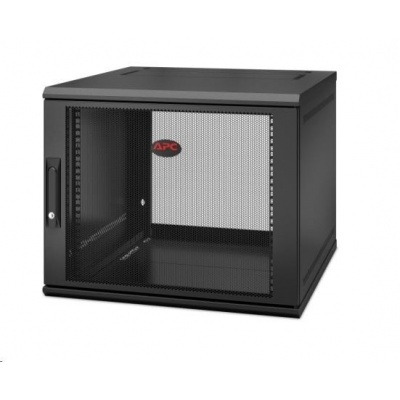 APC NetShelter WX 9U Single Hinged Wall-mount Enclosure 600mm Deep