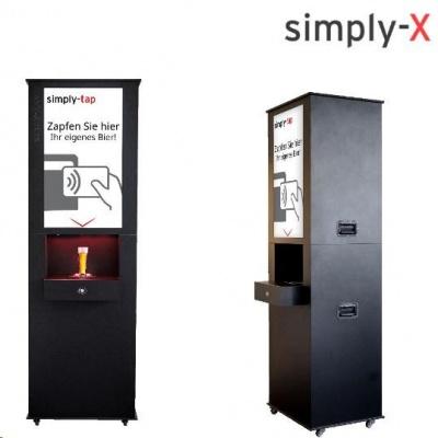 Ximply-tap samoobslužné výčení zařízení