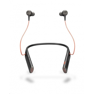 PLANTRONICS Bluetooth Headset Voyager 6200 UC, BT USB adaptér, pouzdro, černá