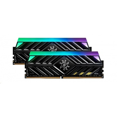 DIMM DDR4 32GB 3000MHz CL16 (KIT 2x16GB) ADATA SPECTRIX D41 RGB, -DR41 memory, Dual Color Box