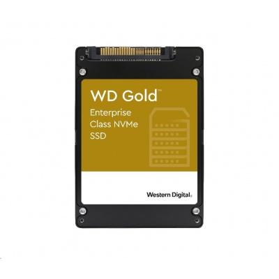 "WD GOLD SSD WDS768T1D0D 7,68TB NVMe (R:3100,W:1800 MB/s), U.2. 2.5"""