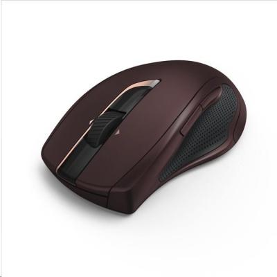 Hama bezdrátová laserová myš MW-900, 7 tlačítek, auto DPI, bordó
