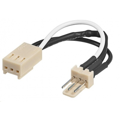 PREMIUMCORD Prodlužovací kabel k ventilátoru s rezistorem 3pin samec - 3pin samice , 8cm
