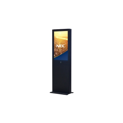 "NEC 48"" Freestand Storage - Black - Signage Indoor stojan, cierny, pre V484, P484,pre finalizaciu ponuky, kontaktujte PM"