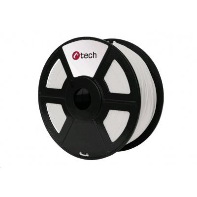 C-TECH Tisková struna (filament) PETG, 1,75mm, 1kg, natural