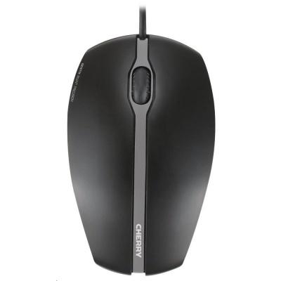CHERRY myš Gentix Silent, USB, drátová, ultratichá, 1000 DPI, černá