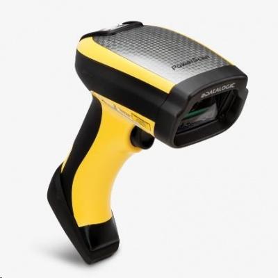 Datalogic PowerScan PD9531-HP, 2D, HD, LR, SR, WA, multi-IF, kit (USB), black, žlutá