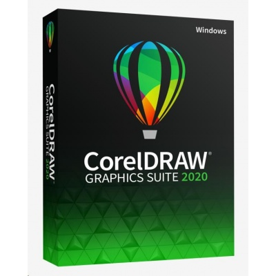 CorelDRAW GS 2020 Edu License (Windows) (5-50) EN/DE/FR/BR/ES/IT/NL/CZ/PL