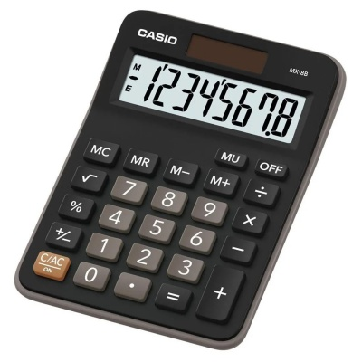 CASIO kalkulačka MX 8 B, Stolní kalkulátor