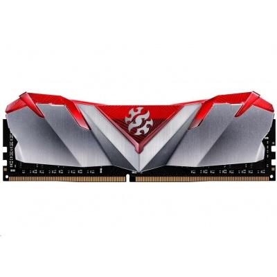 DIMM DDR4 8GB 3200MHz CL16 ADATA XPG GAMMIX D30 memory, Single Color Box, Red