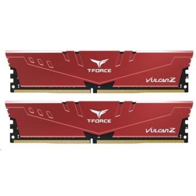 DIMM DDR4 8GB 3200MHz, CL16, (KIT 2x4GB), T-FORCE VULCAN Z, Red